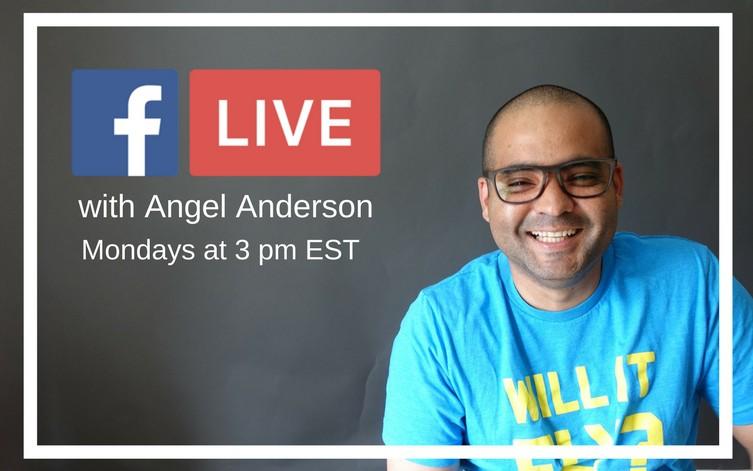 Angel Anderson Facebook Live